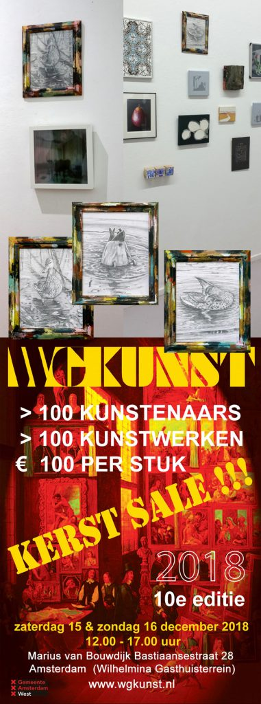 Kerst sale Art at WGKunst
